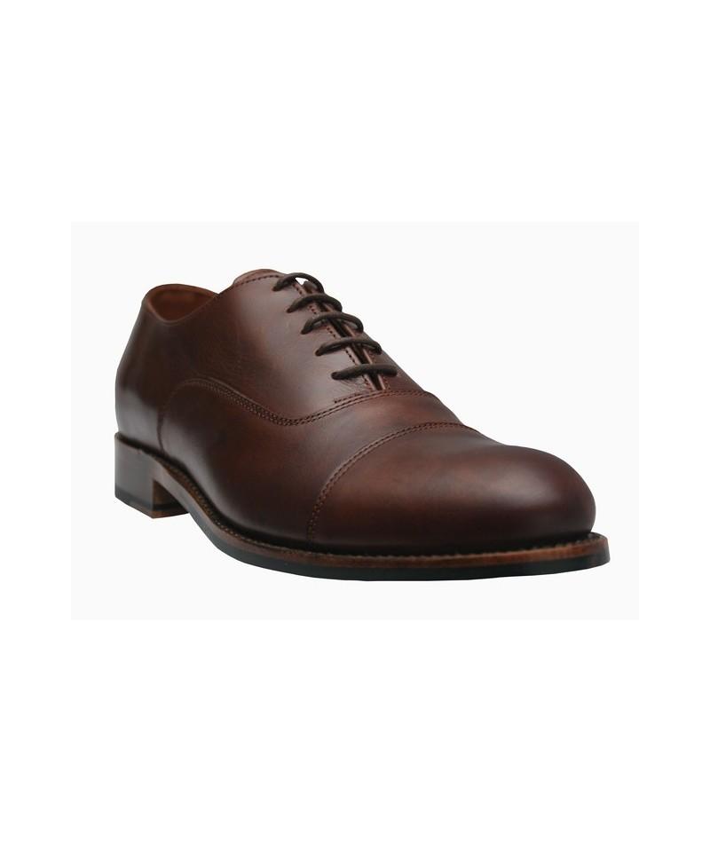 Zapato Oxford marrón negro, Calzado de Valverde del Camino